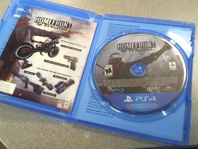 SONY Sony PlayStation 4 Game HOMEFRONT THE REVOLUTION