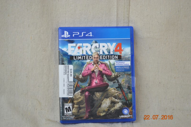 FAR CRY 4 LIMITED EDITION PS4 GAME