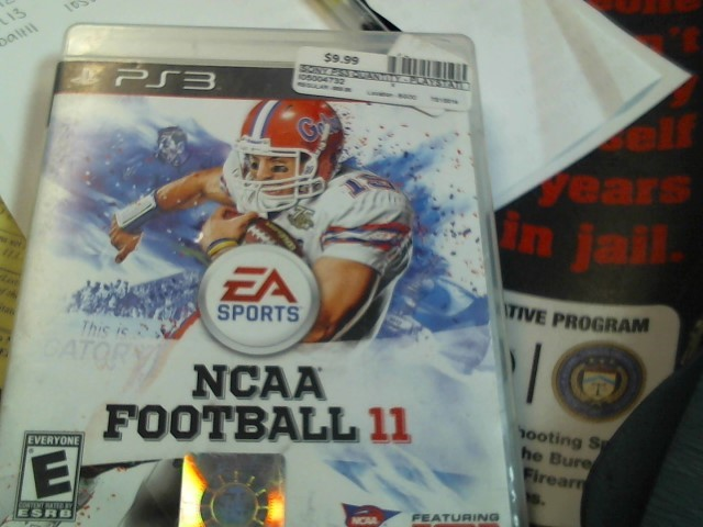SONY PS3 NCAA FOOTBALL 2011