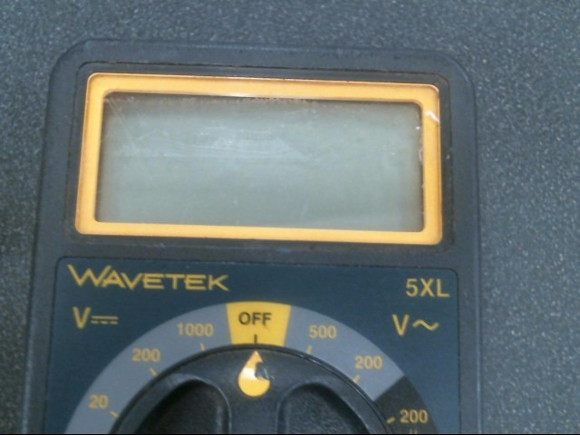 WAVETEK Multimeter 5XL