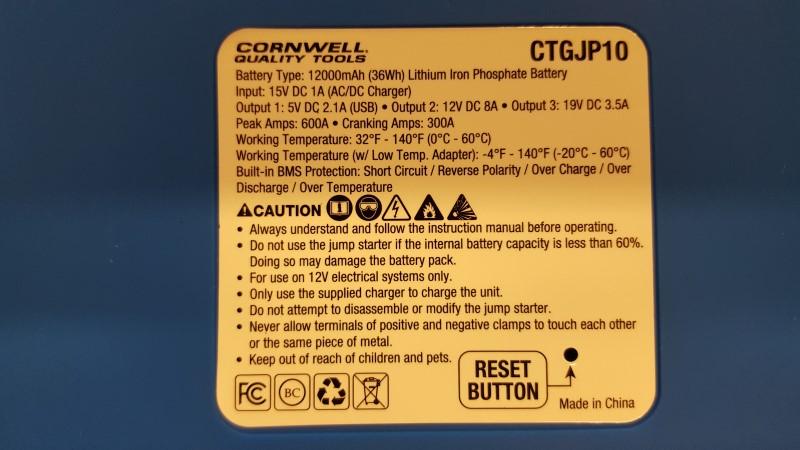 CORNWELL TOOLS Parts & Accessory CTGJP10