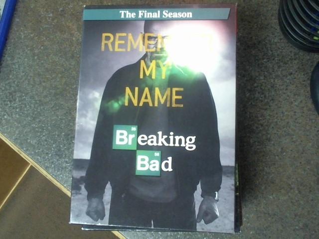 DVD BOX SET DVD BREAKING BAD THE FINAL SEASON