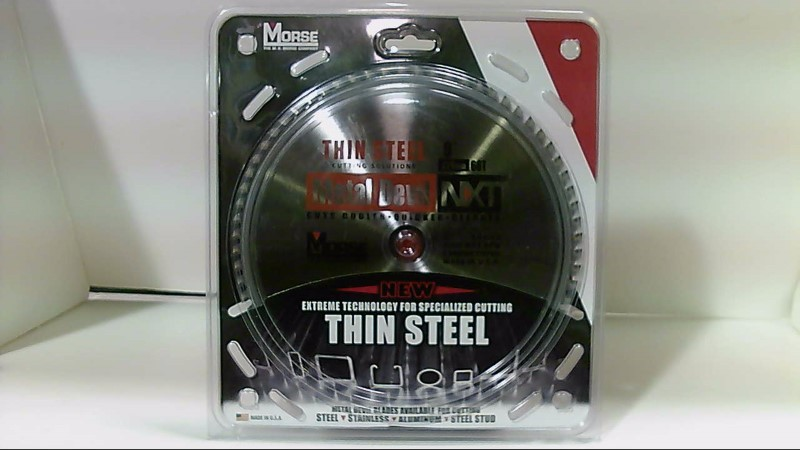 "9"" Inch Morse Metal Devil NXT Saw Blade 3x8 3x9"