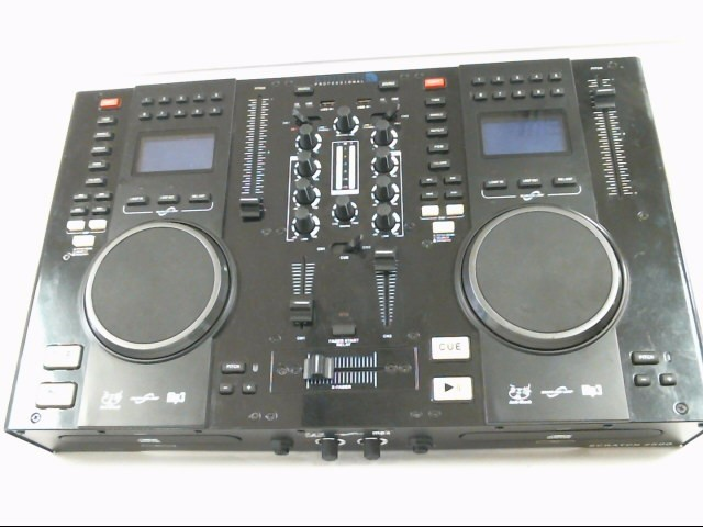 EDISON DJ Equipment SCRATCH 2500