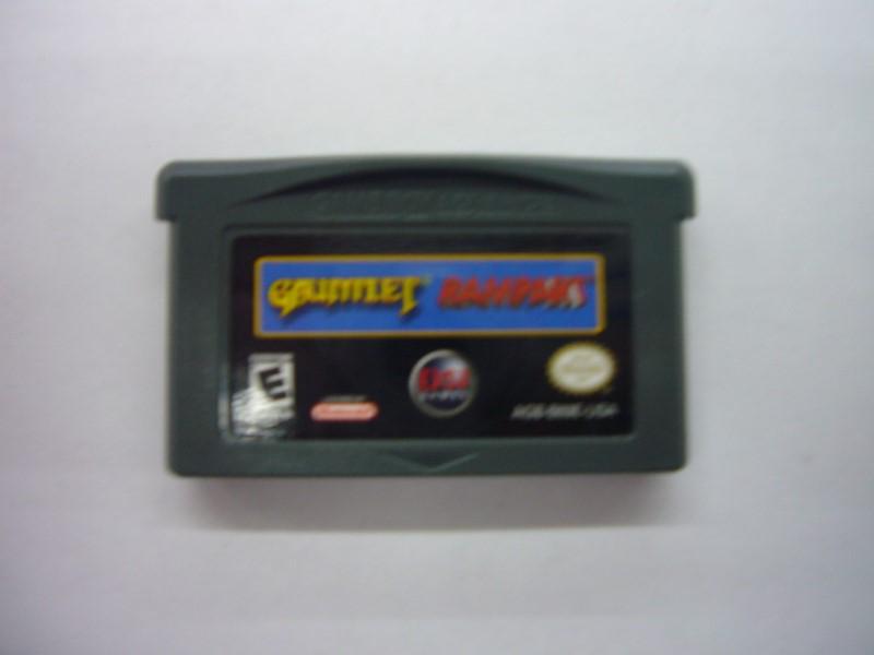 NINTENDO GBA Game GAUNTLET RAMPART *CARTRIDGE ONLY*