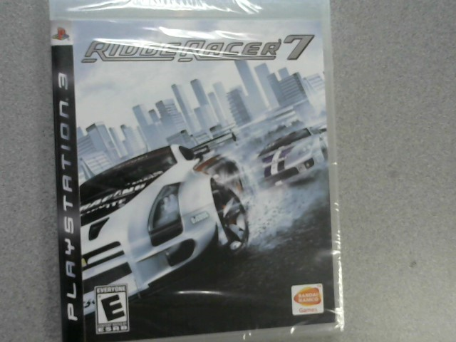 SONY Sony PlayStation 3 Game RIDGE RACER 7