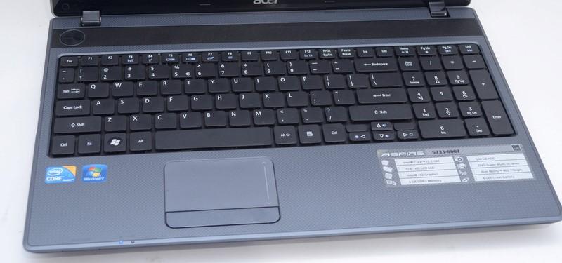 Acer Aspire 5733-6607 Laptop Intel i3-370M 2.40GHz 4GB 500GB HDD>