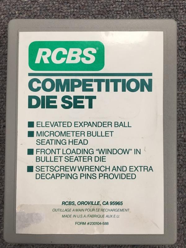 RCBS - Reloading Dies - 7MM x 64 Brenneke - Comp. 2 Die Set - 38501