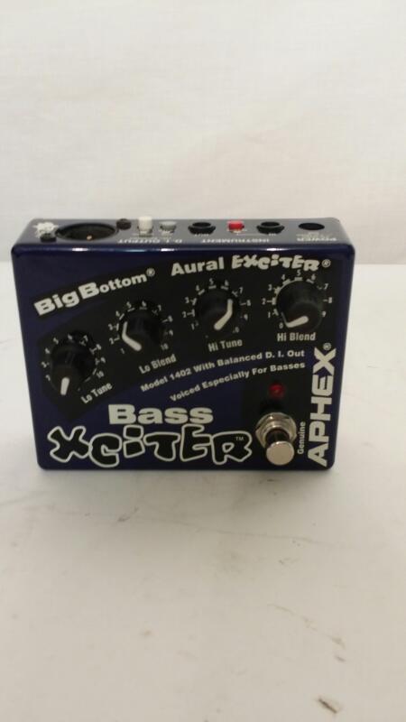 Aphex Xciter Bass Guitar Effect Pedal BigBottom Aural Exciter 1402]