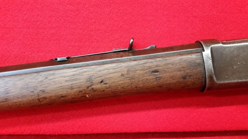 """Winchester Model 1892 38 WCF Lever Action Rifle - 24"""" Octagon Barrel"""