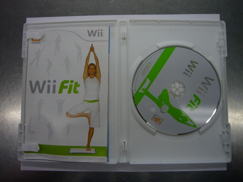 NINTENDO Wii Game WII FIT - GAME ONLY