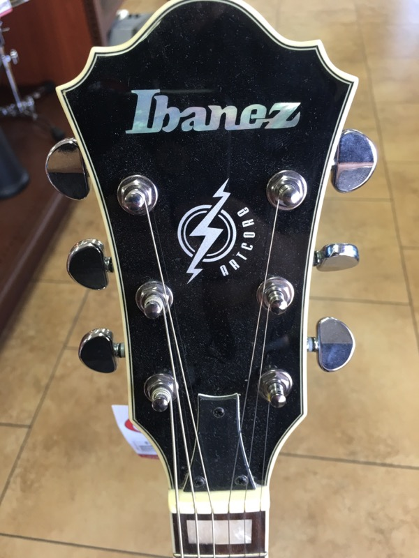 IBANEZ Electric-Acoustic Guitar AFS75T-TBL-12-01