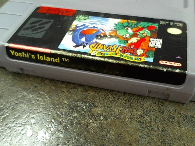NINTENDO Nintendo SNES Game SUPER MARIO WORLD 2 YOSHI'S ISLAND
