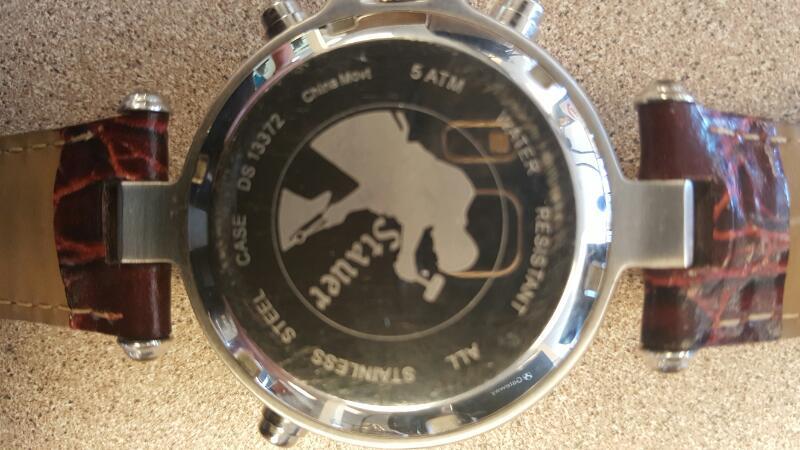 STAUER Gent's Wristwatch 13372 GRAVES