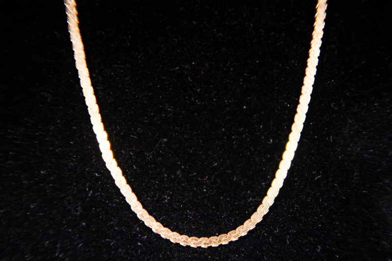 "20"" Gold Serpentine Chain 10K Yellow Gold 5.7g"