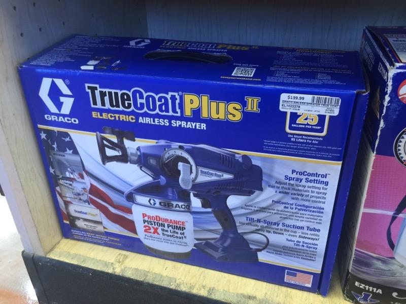 GRACO Airless Sprayer TRUE COAT PLUS II
