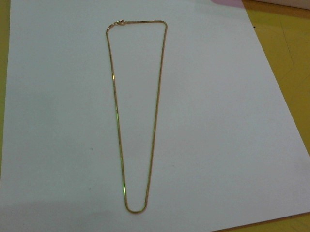 "16"" Gold Rope Chain 14K Yellow Gold 3.9g"