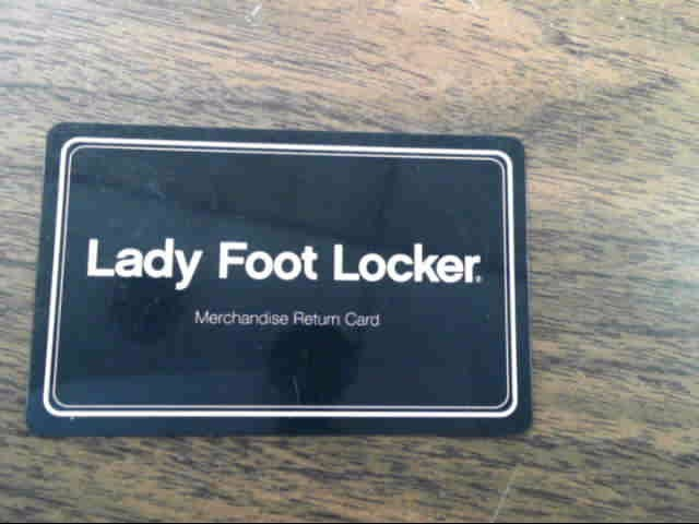 LADY FOOT LOCKER Gift Cards GIFT CARD