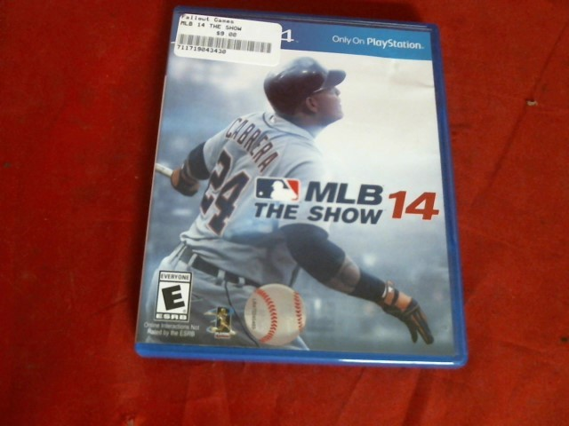 MLB THE SHOW 14 PS4 GAME