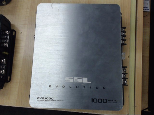 SSL EVOLUTION AUDIO Car Amplifier EV2.1000