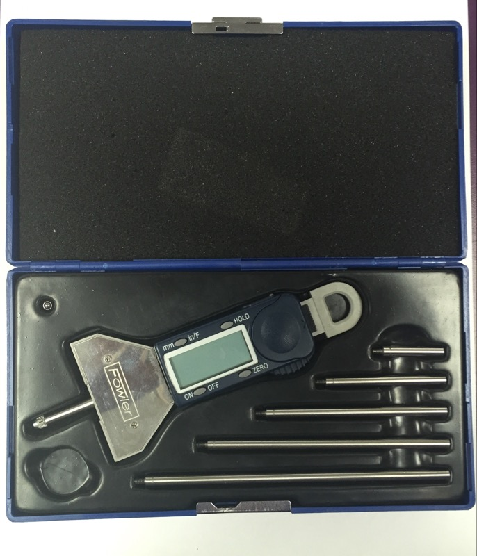 Fowler Xtra-Value Depth Gauge 54-225-555-0