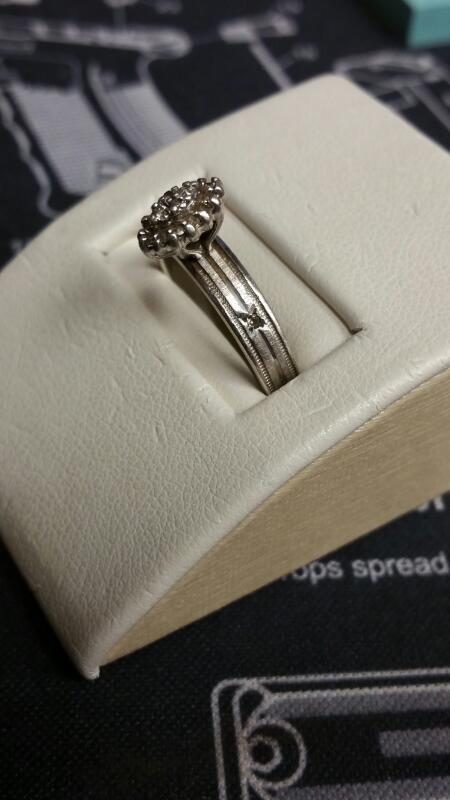 Lady's Silver Ring 925 Silver 4dwt