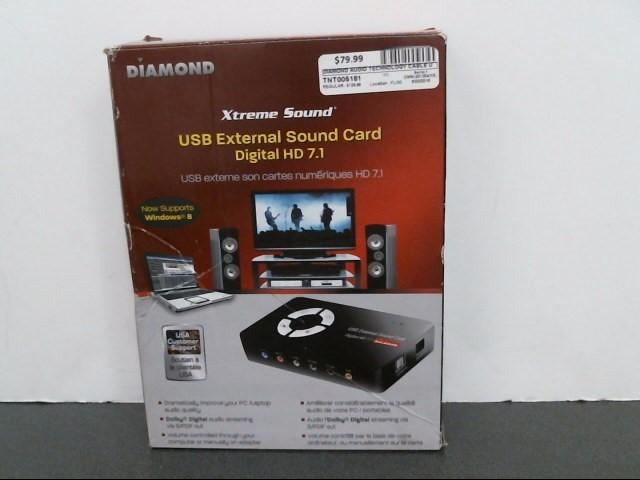 DIAMOND XTREME SOUND Computer Accessories XS71U