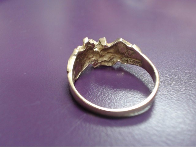 Gent's Gold Ring 14K Yellow Gold 5.3g Size:9.5