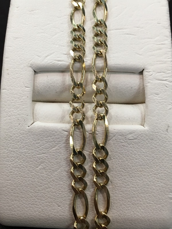"18"" Gold Chain 14K Yellow Gold 4.8dwt"