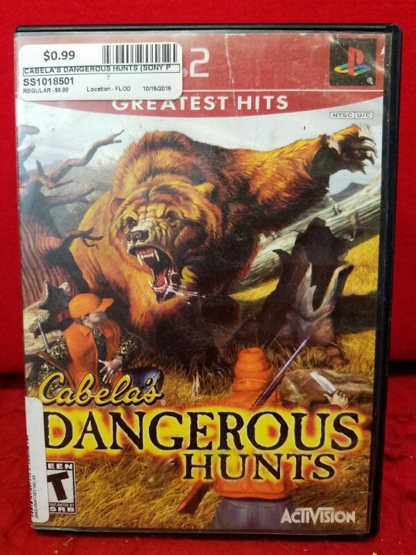 Cabela's Dangerous Hunts (Sony PlayStation 2, 2003)