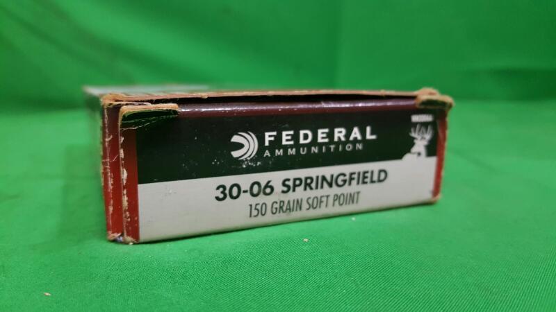 FEDERAL AMMUNITION Ammunition 30-06 150 GRAIN SOFT POINT