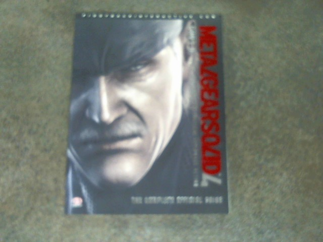 PIGGYBACK Video Game Accessory METAL GEAR SOLID 4