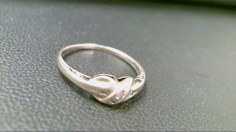 Lady's Diamond Fashion Ring 7 Diamonds .07 Carat T.W. 10K Yellow Gold 1.9g