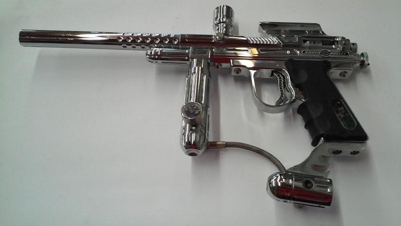 Silver Bullet Paintball Gun