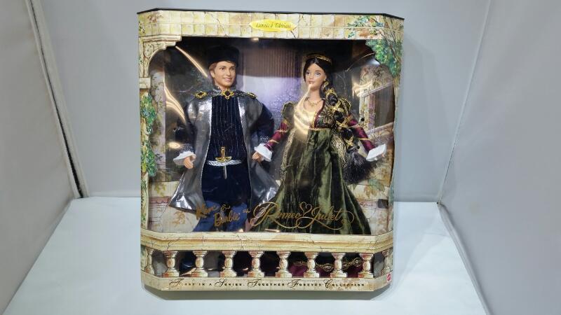 Mattel's Ken & Barbie Shakespeare Romeo & Juliet 1997 Limited Edition Dolls