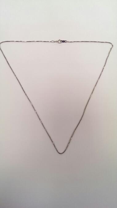 "18"" Silver Chain 925 Silver 2.7g"