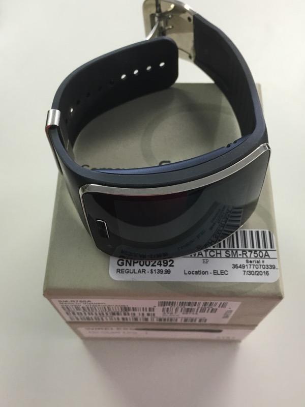SAMSUNG Gear S Gents Wristwatch SM-R750A