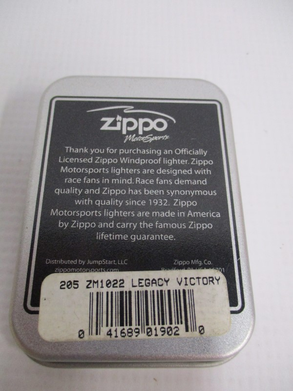 ZIPPO LIGHTER 205 ZM1022 LEGACY VICTORY DALE EARNHARDT