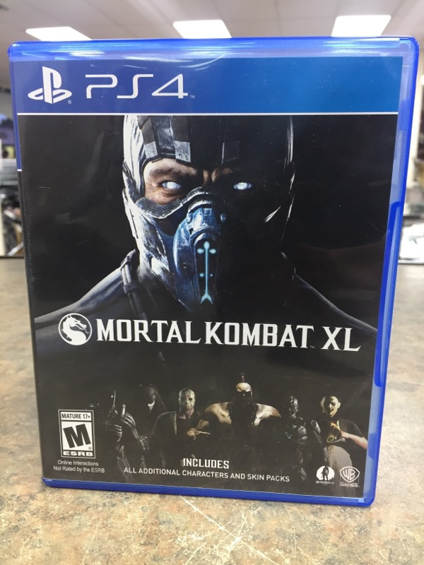 SONY Sony PlayStation 4 Game MORTAL KOMBAT XL PS4
