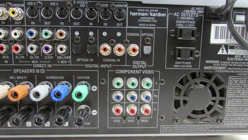 HARMAN KARDON Receiver AVR 330