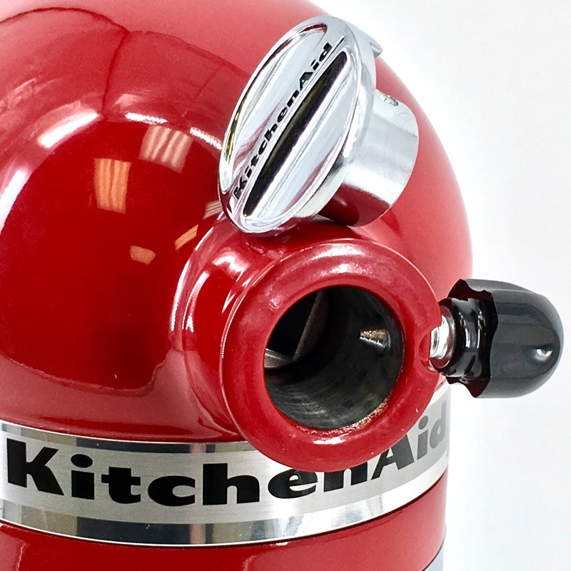 KITCHENAID MIXER RED KSM150PSER 5 QT TILT HEAD STAND MIXER IN BOX