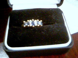 Lady's Gold Ring 10K Yellow Gold 2.3g Size:8.5