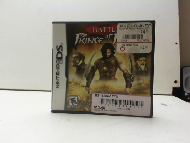 NINTENDO Nintendo DS Game BATTLES OF PRINCE OF PERSIA