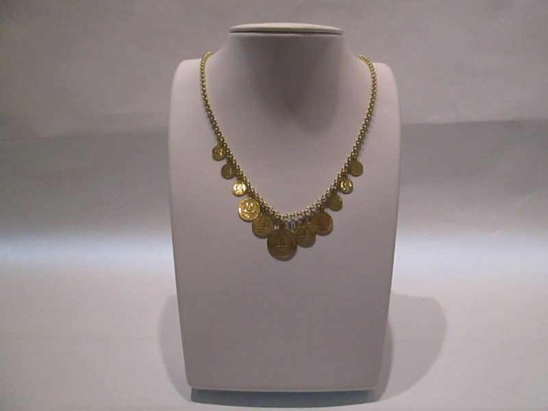 Gold Fashion Chain 14K Yellow Gold 9.6dwt