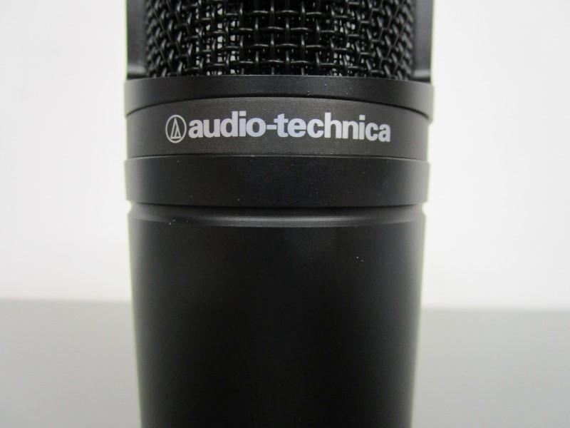 AUDIO-TECHNICA AT2020 CARDIOID CONDENSER MICROPHONE, NEAR MINT