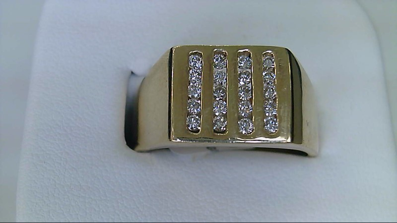 ESTATE 14KYG 1/3CTTW (20 RD DIA) GENTS RING