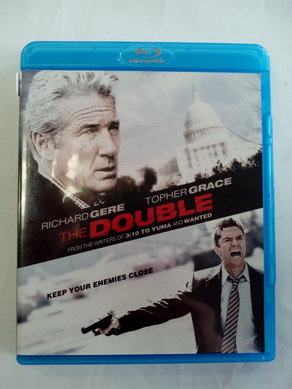 THE DOUBLE, ACTION BLU-RAY MOVIE, STARRING RICHARD GERE