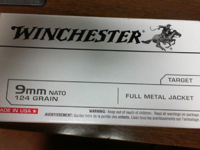 WINCHESTER Ammunition 9MM NATO AMMO