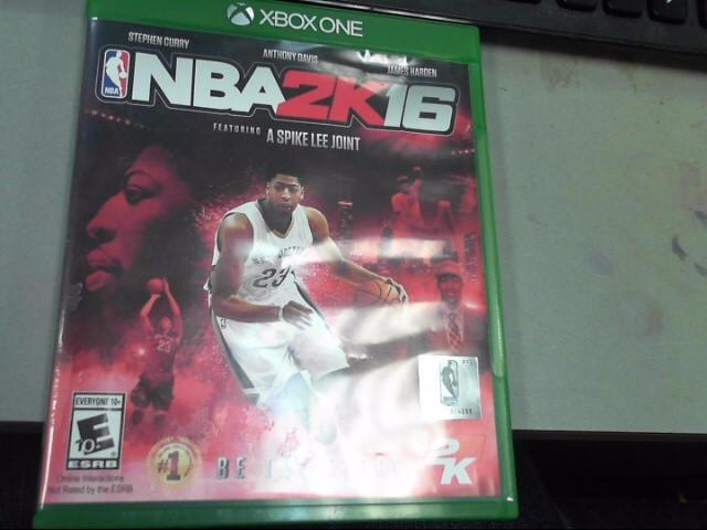MICROSOFT Microsoft XBOX One Game NBA 2K16 - XBOX ONE
