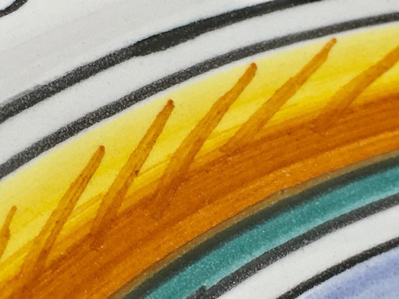 "ORVIETO Collectible Plate/Figurine PLATE 14"" PHOENIX BIRD"